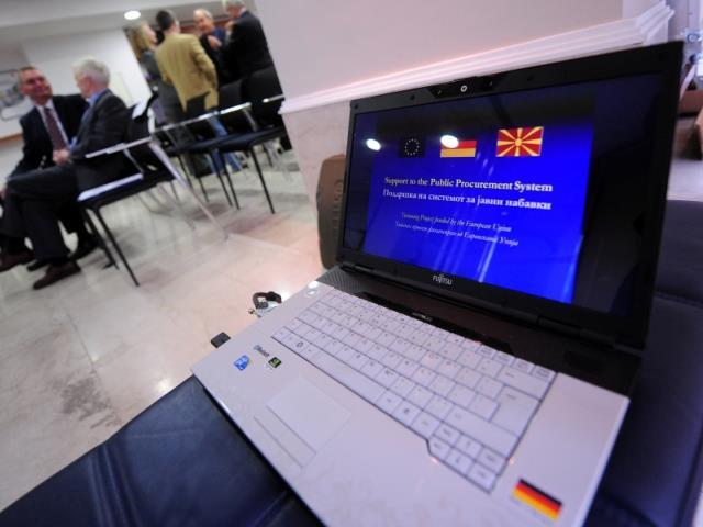 Përkrahje për sistemin e prokurimit publik, Tetor 2011