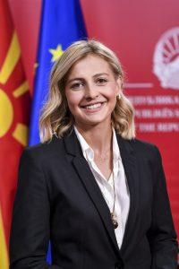 Министер за финансии - Нина Ангеловска